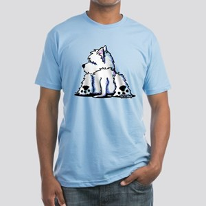 Cool Belly Westie Fitted T-Shirt