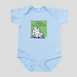 Cool Belly Westie Infant Bodysuit
