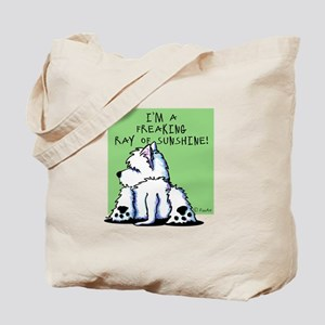 Cool Belly Westie Tote Bag