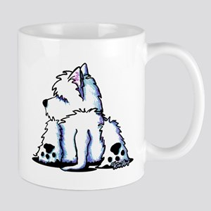 Cool Belly Westie Mug