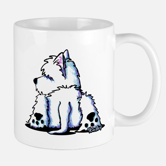 Cool Belly Westie Mug