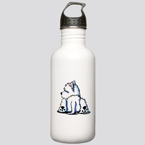 Cool Belly Westie Stainless Water Bottle 1.0L