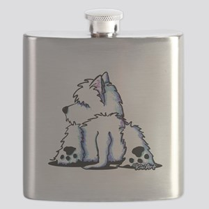 Cool Belly Westie Flask