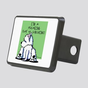 Cool Belly Westie Rectangular Hitch Cover