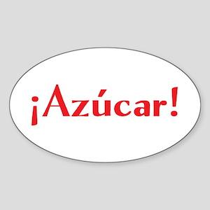 azucar Sticker (Oval)