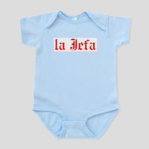 la jefa Baby Light Bodysuit
