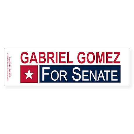 Elect Gabriel Gomez Sticker (Bumper)