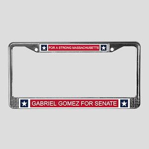 Elect Gabriel Gomez License Plate Frame