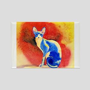 Sphynx Cat Rectangle Magnet
