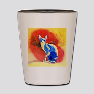 Sphynx Cat Shot Glass
