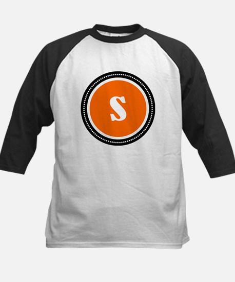 Orange Kids Baseball Jersey