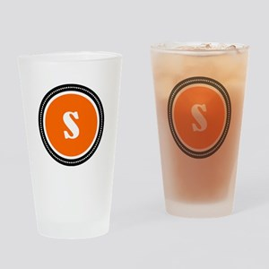 Orange Drinking Glass