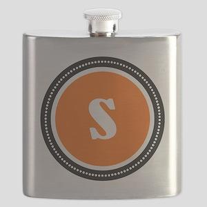 Orange Flask