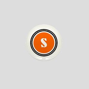Orange Mini Button