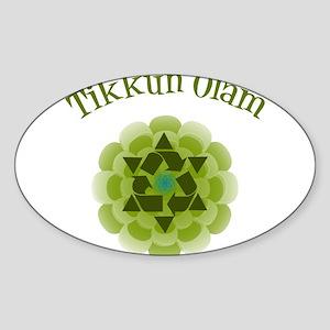 Tikkun Olam Recycle Sticker