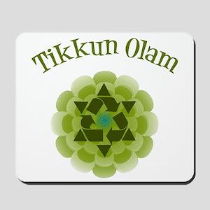 Tikkun Olam Recycle Mousepad
