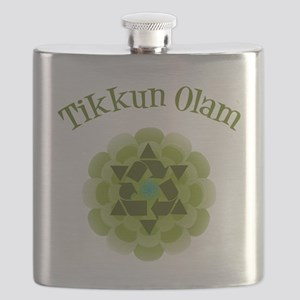 Tikkun Olam Recycle Flask