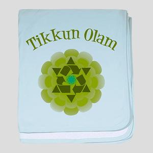Tikkun Olam Recycle baby blanket