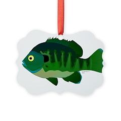 Bluegill sunfish v2 Ornament