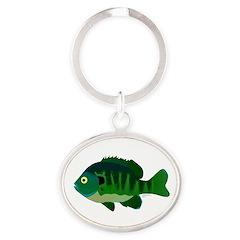 Bluegill sunfish v2 Keychains
