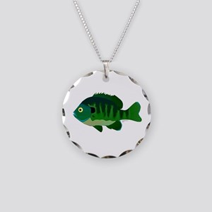 Bluegill sunfish v2 Necklace