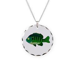 Bluegill sunfish v2 Necklace