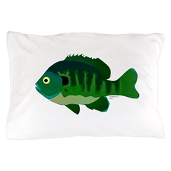 Bluegill sunfish v2 Pillow Case