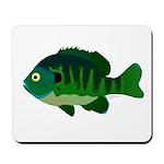 Bluegill sunfish v2 Mousepad