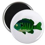 """Bluegill sunfish v2 2.25"""" Magnet (100 pack)"""
