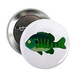 "Bluegill sunfish v2 2.25"" Button"