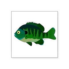 Bluegill sunfish v2 Sticker