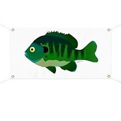 Bluegill sunfish v2 Banner