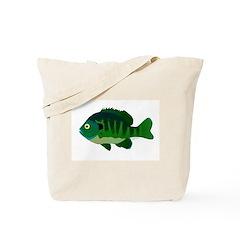Bluegill sunfish v2 Tote Bag