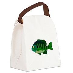 Bluegill sunfish v2 Canvas Lunch Bag