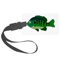 Bluegill sunfish v2 Luggage Tag