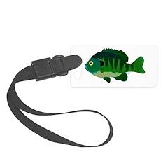 Bluegill sunfish v2 Luggage Tag