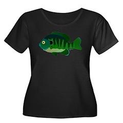 Bluegill sunfish v2 Plus Size T-Shirt