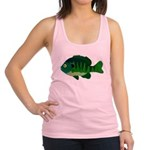 Bluegill sunfish v2 Racerback Tank Top