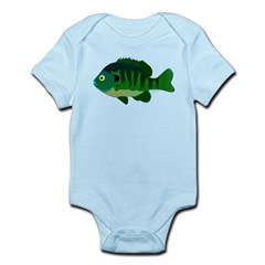 Bluegill sunfish v2 Body Suit