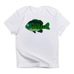 Bluegill sunfish v2 Infant T-Shirt