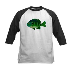 Bluegill sunfish v2 Baseball Jersey