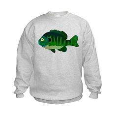 Bluegill sunfish v2 Sweatshirt