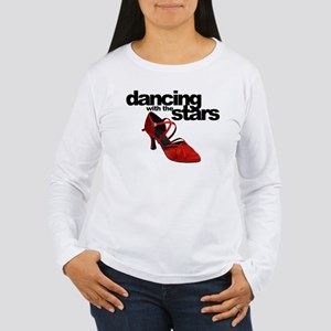 dancing with the stars - red shoe Women's Long Sle