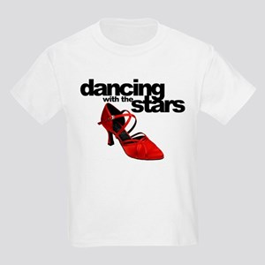 dancing with the stars - red shoe Kids Light T-Shi