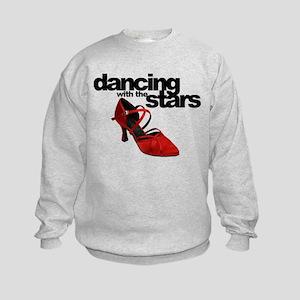 dancing with the stars - red shoe Kids Sweatshirt