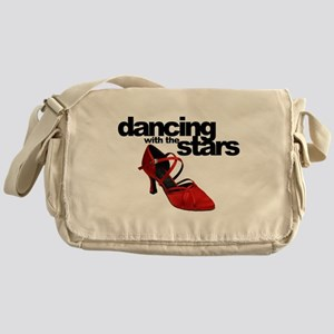dancing with the stars - red shoe Messenger Bag