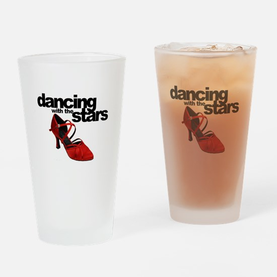 dancing with the stars - red shoe Drinking Glass
