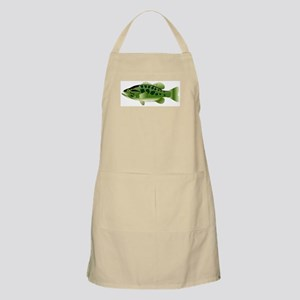 Spotted Bass (Black Bass Family) Apron