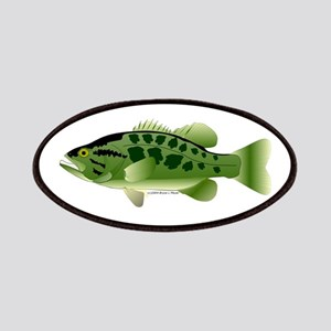 Spotted Bass (Black Bass Family) Patches
