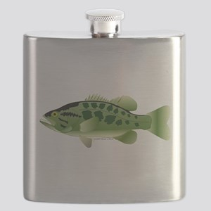 Spotted Bass (Black Bass Family) Flask